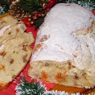 Jednoduchá vánoční štola recept
