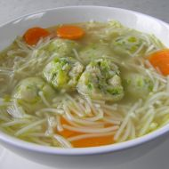 Pórkové knedlíčky do polévky recept