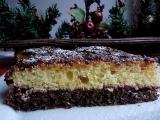 Makový dortík s voňavým piškotem recept