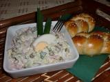 Salát z čínského zelí se šunkou recept