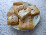 Buchta s mandarinkovým tvarohem recept