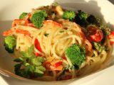 Špagety Primavera recept