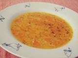 Mrkvová polévka s kuskusem recept