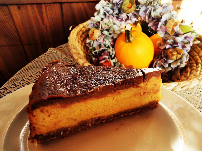 Dýňový koláč s čokoládou recept