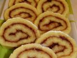 Piškotová roláda 4 recept