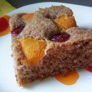 Švestkovo-meruňkový koláč recept