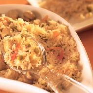 Rychlý zeleninový pilaf recept