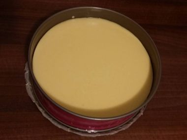 Vanilkový cheesecake z máslových sušenek
