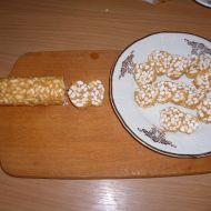 Karamelový salám recept