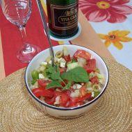 Řecký salát s oregánem recept