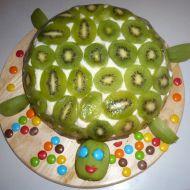 Piškotová želva recept