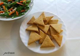 Cizrnové lupínky nachos recept