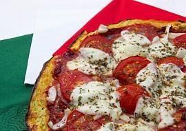 Cuketová pizza přirozeně bezlepková recept