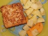 Rybí filé s kokosem recept