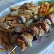 Kuřecí jehla po česku recept