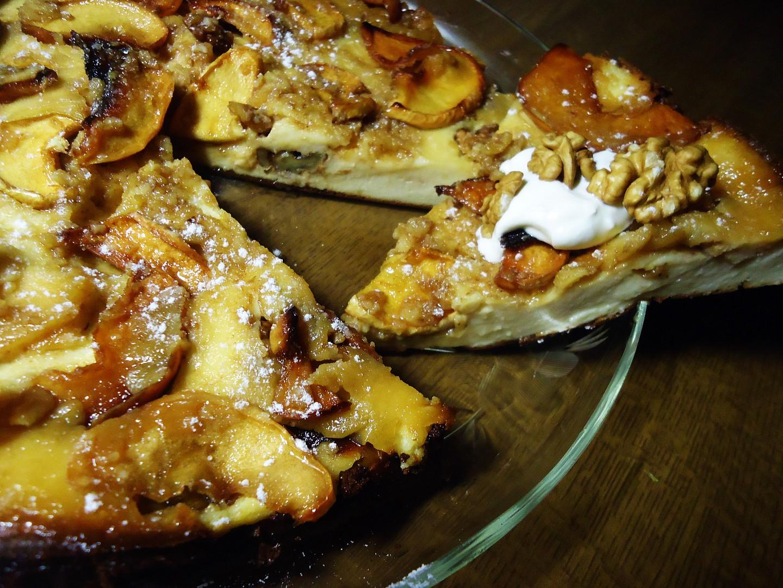 Obracený koláč z křížal a zakysané smetany recept