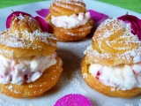 Mini větrníčky s jahodami recept
