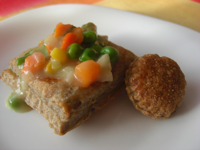 Paštičky (Vol-au-vent) recept