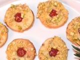 Pistáciová kolečka s marmeládou recept