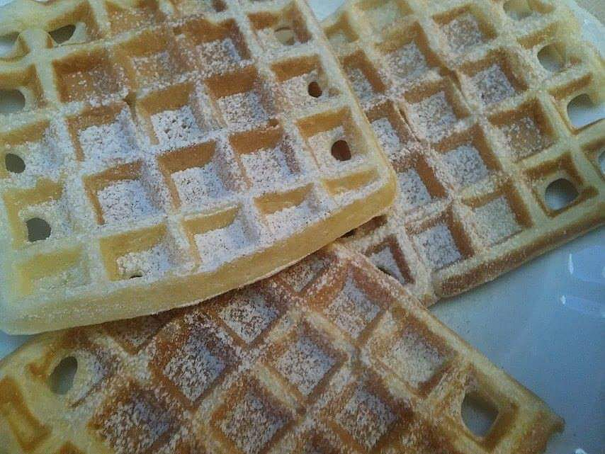 Belgické vafle recept