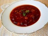 Pikantní polévka z červené řepy recept