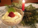 Jáhlovo-tvarohový pohár recept
