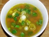 Polévka s mungem a zeleninou recept