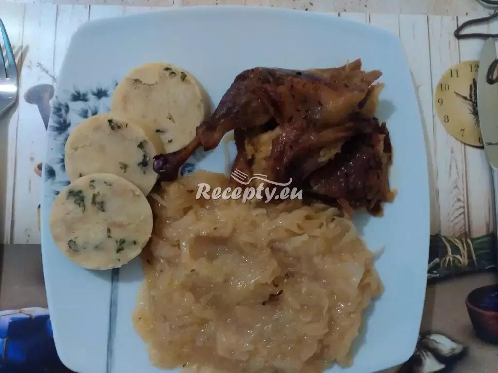 Husí stehna nasladko recept  slavnostní pokrmy