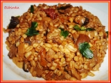 Houbová smaženice s kroupami a sušenými rajčaty recept ...
