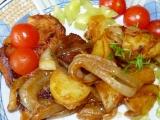 Masíčko s cibulí a bramborem v mikrovlnce recept