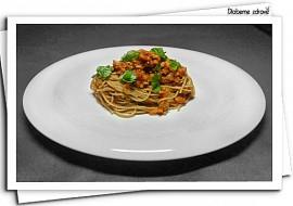 """""""Boloňské"""" špagety se sójou (DlabemeZdrave) recept"""