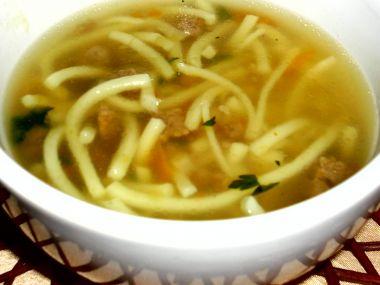 Polévka z kohouta