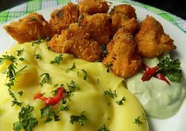Květák pečený v sýrové strouhance recept