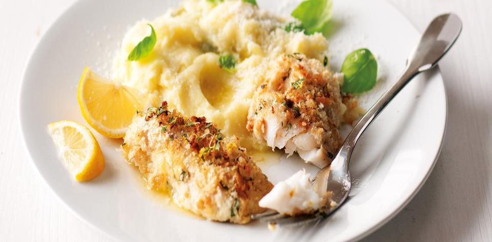 Ryba pečená v citronové strouhance