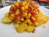 Krůtí maso s rajčaty a kukuřicí recept