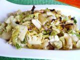 Těstoviny s kapustou a sýrem recept