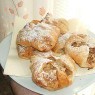 Šátečky s jablky a vanilkovým pudinkem recept