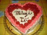 Jahodový dort z lásky recept