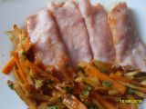 Řezy z kuřecího masa v šunkovém závitku recept
