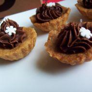 Košíčky s čokoládovým krémem recept
