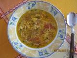 Cibulová polévka s rajčaty recept