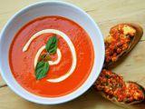 Polévka z grilovaných paprik recept