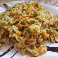 Zeleninová rýže s rozmarýnem recept