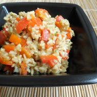 Paprikové rizoto z rýže natural recept