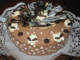 Čoko tvarohový dort recept