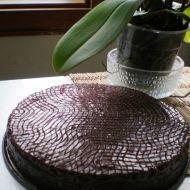 Kakaový bezlepkový dort se sušenými švestkami recept
