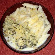 Sýrová omáčka s brokolicí a těstovinami recept