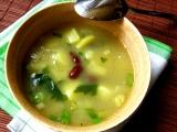 Ovarová polévka s bramborami a fazolemi recept