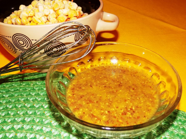 Hořčicová zálivka na saláty recept