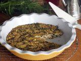 Frittata s houbami shiitake a koprem recept